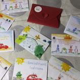 """Postkartenset """"Umziehen und neue Freunde finden"""""""