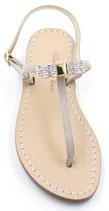 """Sandali Artigianali modello """"AMINA"""" beige"""