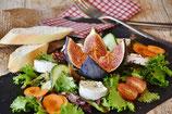 Tagessalat, saisonal, regional, Bio mit Kräuter/Wildkräuter