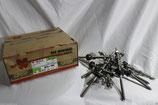 50 Stück Stockschrauben Würth A2 M10x200 Edelstahl vorkonfekt. mit EPDM Dichtung