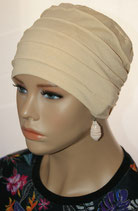 City Turban Cap 39 Light Toffee