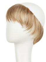130 Haarkranz Pony Blond, dunkelblond gesträhnt