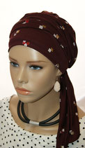 Mia City Turban 35 Summer Col Aubergine