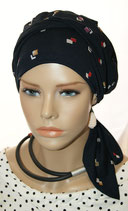 Mia City Turban 33 Blue Col