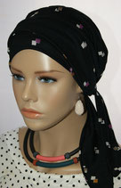 Mia City Turban 36 Black Col