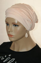Shandra 30 Turban Cap Light Salmon Sunshine