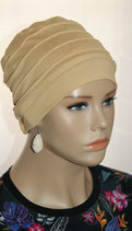 City Turban Cap 40 Toffee