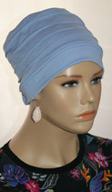 City Turban Cap 18 Jeans Blue