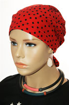 H 640 Black Dots Red