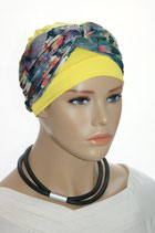 GM 206 2tlg. Set Turban Bahama Yellow & Band Ella