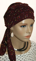 Mia City Turban 31 Redwine Daisys