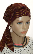 Mia City Turban 23 Redwine Cinnamon Points