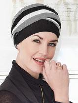 513 Turban Shanti 1461-660 Grey Melange Black Ivory