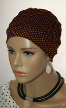 City Turban Cap 58 Redwine Cinnamon Points
