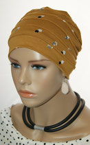 City Turban Cap 52 Cinnamon Col