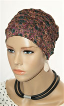 City Turban Cap 71 Purple Garden