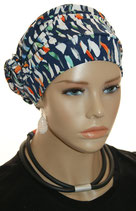 GM 532 Turban Nala Midnight Blue