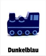 Motivperle Lokomotive dunkelblau