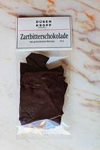 Zartbitterschokolade geräuchertes Meersalz