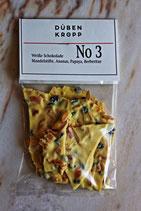 No 3 Weiße Schokolade Mandelstifte Ananas Papaya Berberitze