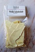 Weiße Schokolade Meersalz