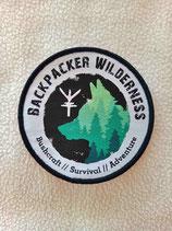 Patch Backpacker Wilderness 2021 - 009 weiß