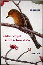 """Kleiner Gedichtband """"Alle Vögel sind schon da"""""""