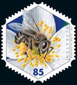 Briefmarken Kleinbogen; 14 x 0.85 'Westliche Honigbiene'