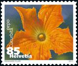 Briefmarken Bogen; 500 x 0.85 B-POST 'Gemüseblüten'
