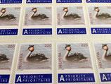 Briefmarkenbogen; 50 x 2.20 'Einheimische Vögel'
