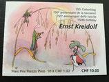 Markenheftchen; 10 x 1.00 A-Post 'Ernst Kreidolf'