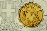 Briefmarke 1 x 6.00 'Goldvreneli'