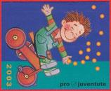 Markenheftchen; 6 x 0.85 B-Post & 6 x 1.00 A-Post 'Pro Juventute 2003'