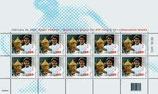Briefmarken Kleinbogen; 10 x 1.00 'Roger Federer'