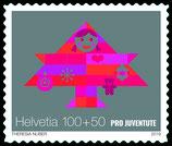 Kleinbogen à 10 x CHF 1.00 Weihnachts-Briefmarke 2019 'Freude bereiten'