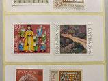 100 x 0.85 - Etiketten Briefmarken