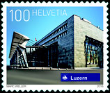 10 x 1.00 A-POST 'Schweizer Bahnhöfe - Luzern'