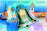 "Briefmarke 1 x 0.85 ''Tag der Briefmarke 2013 Aarau"""