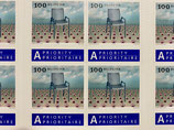 Briefmarken Kleinbogen; 10 x 1.00 'Landi Stuhl'