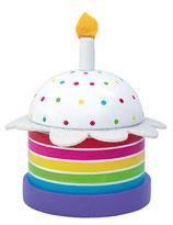 Boîte à musique - gâteau d'anniversaire
