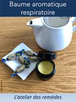 Baume aromatique respiratoire