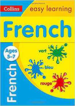 French self study book for 5-7 years old