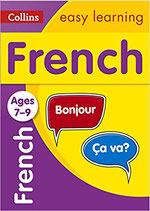 French self study book for 7-9 years old
