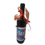 Bouteilles de vin 50 ans