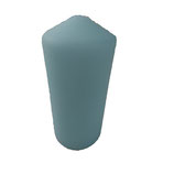 Bougie cylindrique turquoise