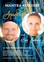 """Anandini - """"Mantra Konzert"""" - 01.09.2018 um 20 Uhr auf der Eventbühne"""