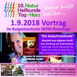 """Clemens Kuby - """"Die Kuby®methode"""" - 01.09.2018 um 17 Uhr auf der Eventbühne"""