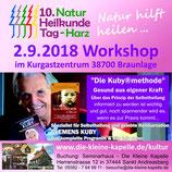 """Clemens Kuby - """"Die Kuby®methode"""" - 02.09.2018 um 10 Uhr in Raum AB1"""