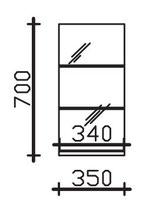 Pelipal Solitaire 7005 - Ablagepaneel