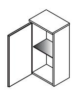 Lanzet Hängeschrank 30x20x62cm - Anschlag links